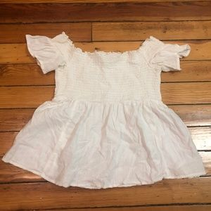 AEO Smock Top Blouse